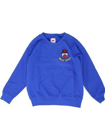 Sweat garçon FRUIT OF THE LOOM bleu 4 ans hiver #1426851_1