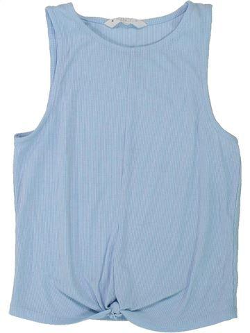 T-shirt sans manches fille CANDY COUTURE bleu 11 ans été #1426905_1