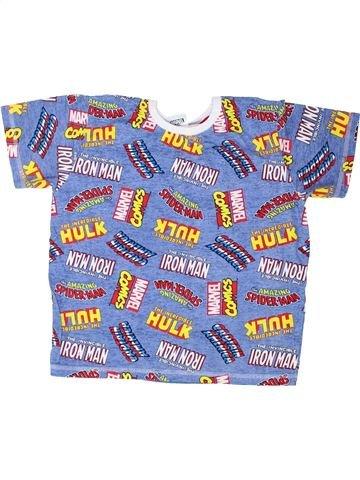 T-shirt manches courtes garçon PEP&CO bleu 9 ans été #1427176_1