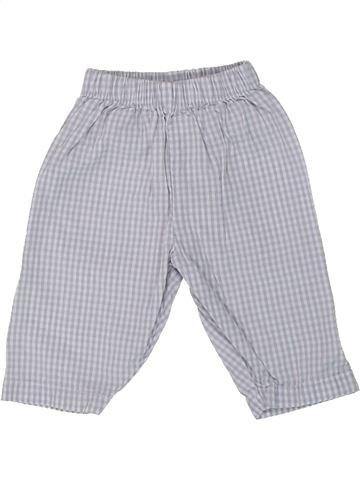 Pantalon garçon THE LITTLE WHITE COMPANY gris naissance été #1427384_1