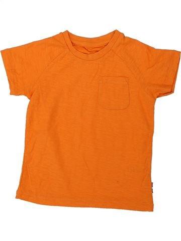 T-shirt manches courtes garçon SANS MARQUE orange 2 ans été #1427558_1