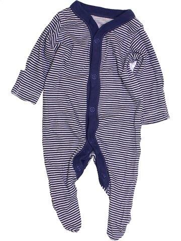 Pyjama 1 pièce garçon NUTMEG bleu prématuré été #1427734_1