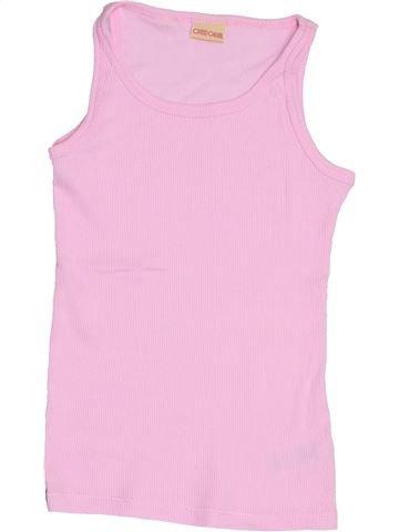 T-shirt sans manches fille CHEROKEE rose 9 ans été #1428153_1