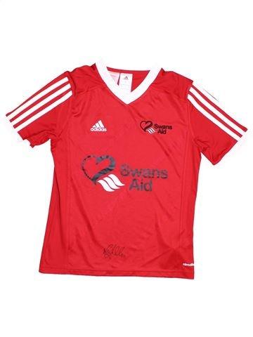 Camiseta deportivas niño ADIDAS rojo 12 años verano #1428208_1