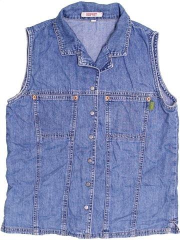 Blusa de manga corta niña ESPRIT azul 16 años verano #1428456_1
