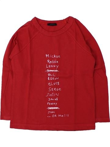 T-shirt manches longues garçon IKKS rouge 3 ans hiver #1428473_1