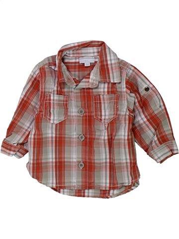 Chemise manches longues garçon KIMBALOO marron 6 mois hiver #1428754_1