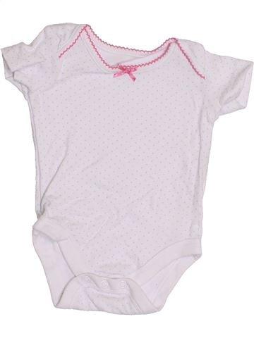 Camiseta de manga corta niña JOHN LEWIS blanco 3 meses verano #1428930_1