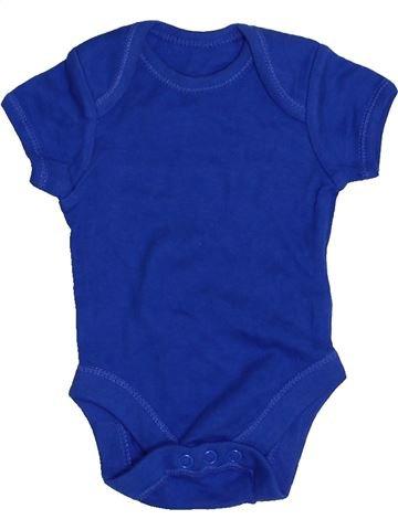 T-shirt manches courtes garçon F&F violet prématuré été #1429018_1