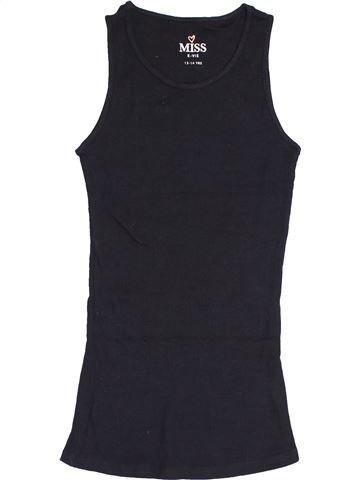 Camiseta sin mangas niña MISS E-VIE azul oscuro 14 años verano #1429127_1