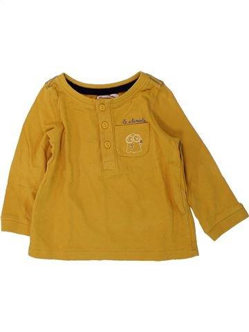 Camiseta de manga larga niño DPAM marrón 12 meses invierno #1429354_1