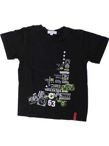 Camiseta de manga corta niño ALPHABET negro 4 años verano #1429422_1