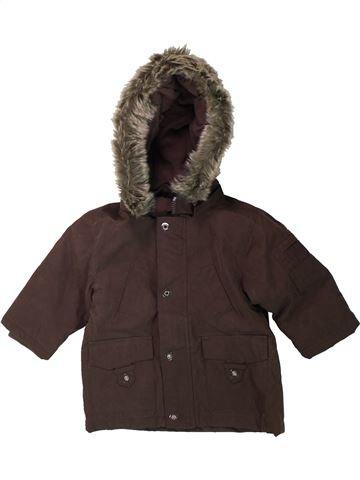 Manteau garçon KIMBALOO marron 9 mois hiver #1429507_1