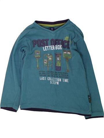 T-shirt manches longues garçon TERRE DE MARINS vert 6 ans hiver #1429752_1