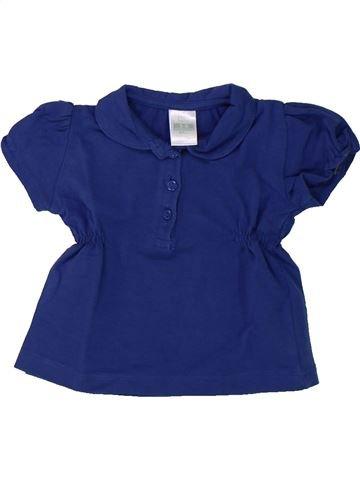 T-shirt manches courtes fille ZARA bleu 6 mois été #1430379_1