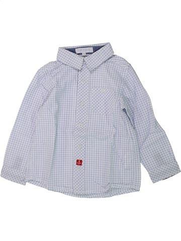 Chemise manches longues garçon CADET ROUSSELLE gris 2 ans hiver #1430425_1