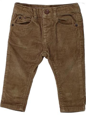 Pantalon garçon ZARA marron 9 mois hiver #1430632_1