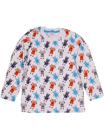 T-shirt manches longues garçon PRIMARK blanc 7 ans hiver #1430741_1