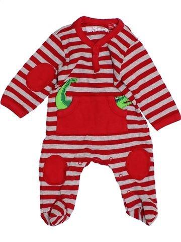 Pijama de 1 pieza niño HIDE&SEEK rojo 0 meses invierno #1430900_1