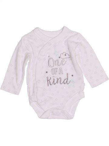 T-shirt manches longues unisexe NUTMEG blanc naissance hiver #1430903_1