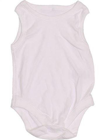 Top - Camiseta de tirantes niño MATALAN blanco 6 meses verano #1430939_1
