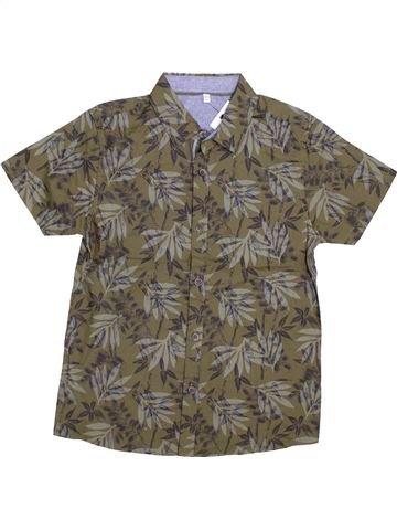 Camisa de manga corta niño MARKS & SPENCER marrón 11 años verano #1431172_1