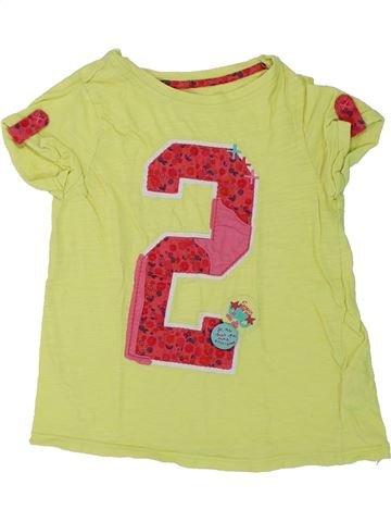 Camiseta de manga corta niña DPAM verde 6 años verano #1431278_1