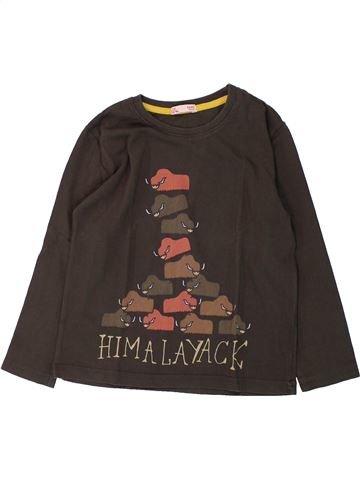 Camiseta de manga larga niño DPAM marrón 4 años invierno #1431354_1