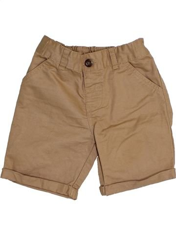 Short - Bermuda garçon NUTMEG marron 3 ans été #1431485_1