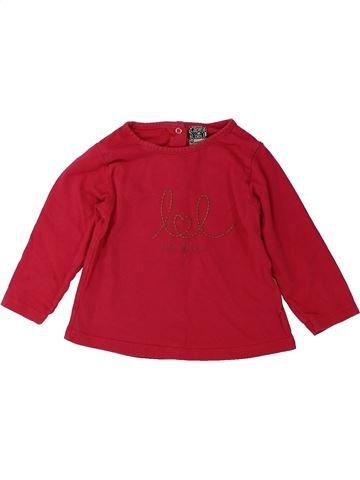 Camiseta de manga larga niña TAPE À L'OEIL rojo 12 meses invierno #1431550_1