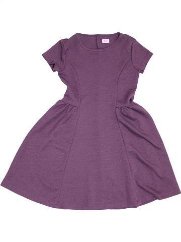 Robe fille F&F violet 9 ans hiver #1431555_1