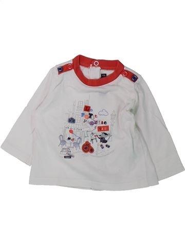 T-shirt manches longues garçon SERGENT MAJOR gris 3 mois hiver #1431679_1