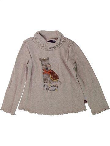 T-shirt col roulé fille SERGENT MAJOR gris 3 ans hiver #1431735_1
