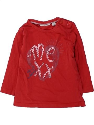 T-shirt manches longues fille MEXX rouge 12 mois hiver #1431754_1