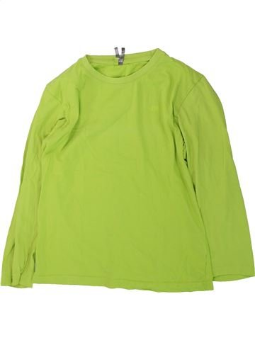 T-shirt manches longues garçon ORCHESTRA vert 12 ans hiver #1431842_1