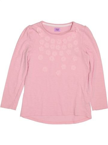 T-shirt manches longues fille F&F violet 7 ans hiver #1431981_1