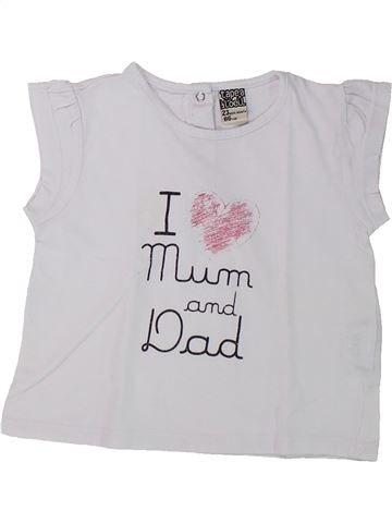 Camiseta de manga corta niña TAPE À L'OEIL blanco 2 años verano #1432101_1