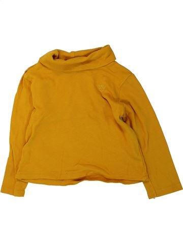 Camiseta de cuello alto niño ORCHESTRA naranja 3 años invierno #1432250_1