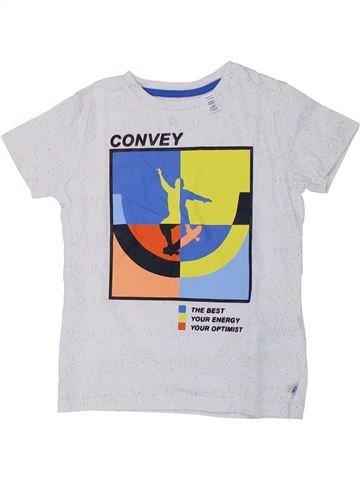 T-shirt manches courtes garçon OKAIDI blanc 6 ans été #1432372_1
