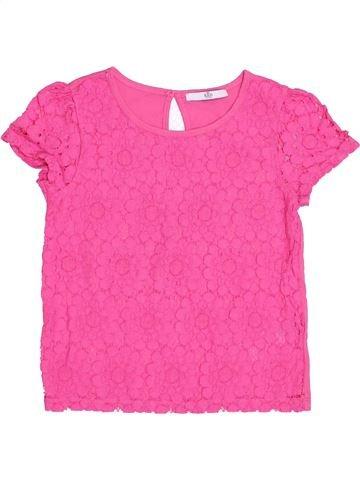 Camiseta de manga corta niña MARKS & SPENCER rosa 9 años verano #1432416_1