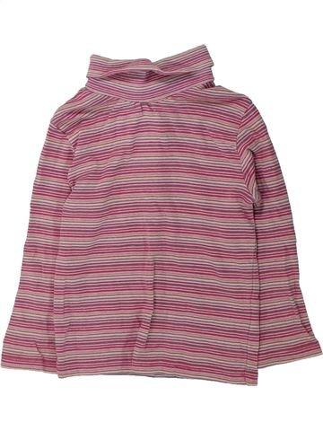 T-shirt col roulé fille KIABI violet 3 ans hiver #1432424_1