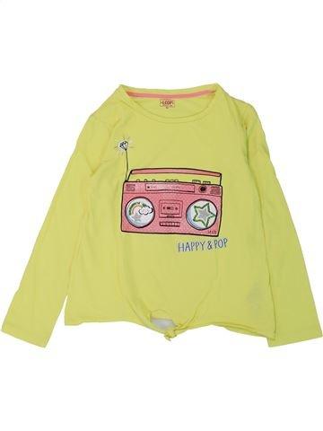 T-shirt manches longues fille LA COMPAGNIE DES PETITS jaune 8 ans hiver #1432605_1