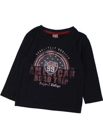 T-shirt manches longues garçon TAPE À L'OEIL noir 2 ans hiver #1432630_1