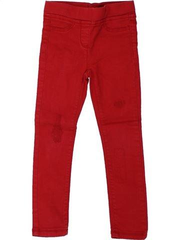 Pantalón niña TAPE À L'OEIL rojo 4 años invierno #1432653_1