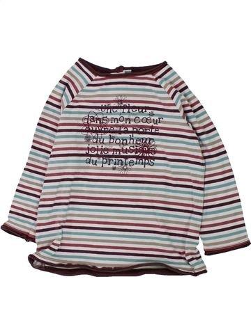 T-shirt manches longues fille SERGENT MAJOR gris 2 ans hiver #1432795_1
