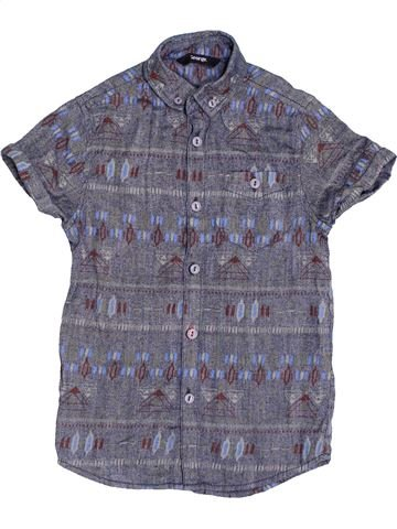 Chemise manches courtes garçon GEORGE bleu 6 ans été #1432845_1