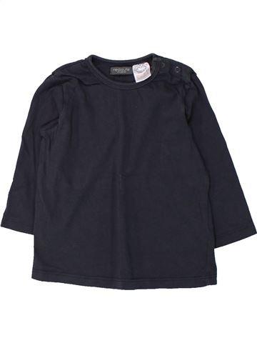 Camiseta de manga larga niño LA REDOUTE CRÉATION negro 12 meses invierno #1432859_1