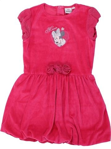 Robe fille DISNEY rouge 5 ans hiver #1432896_1