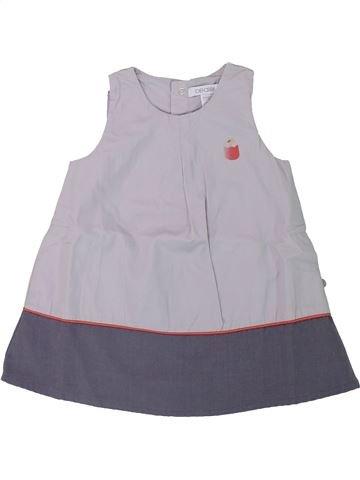 Robe fille OKAIDI gris 9 mois hiver #1433089_1