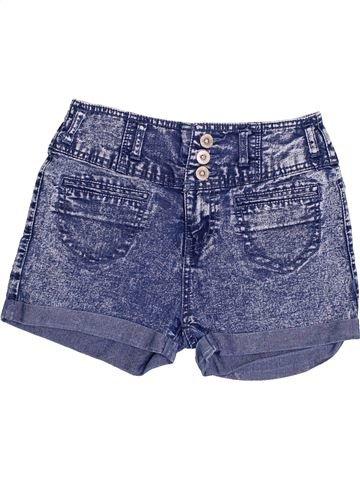 Short-Bermudas niña PRIMARK azul 11 años verano #1433102_1